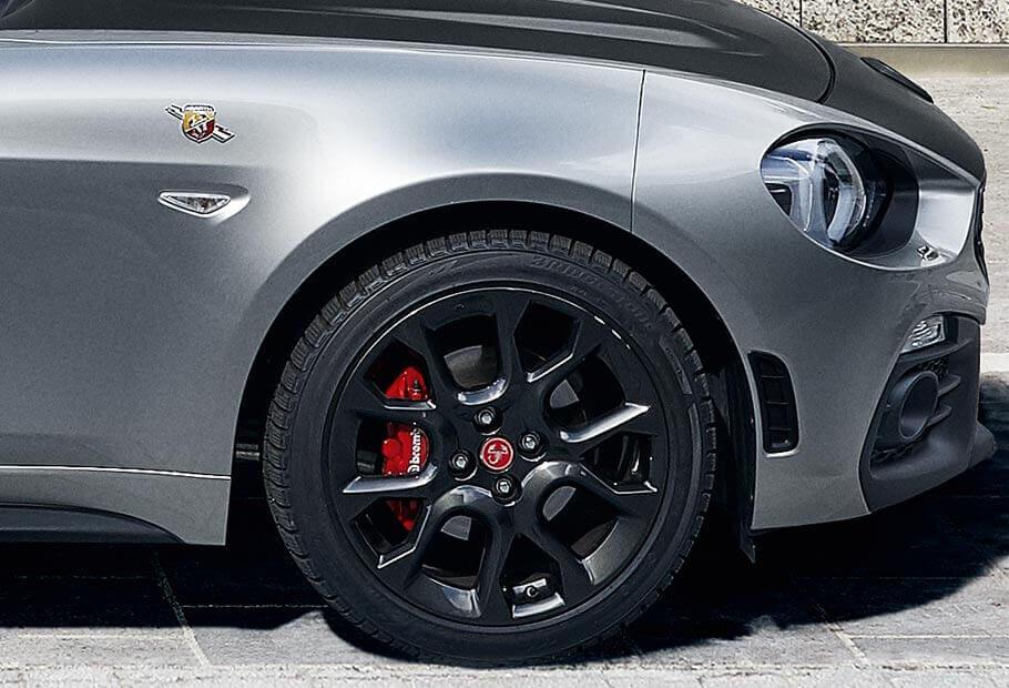 abarth 124 spider turismo roadster voiture sportive abarth. Black Bedroom Furniture Sets. Home Design Ideas