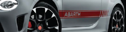 Bandes latérales Abarth