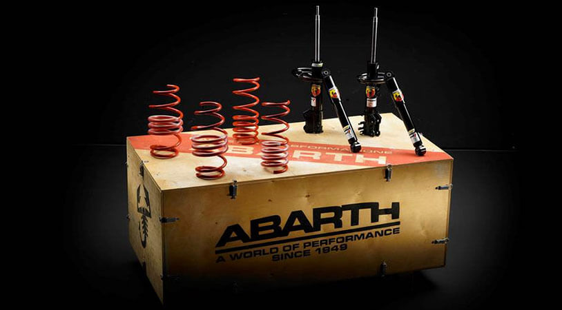 Kit de suspension Abarth Koni